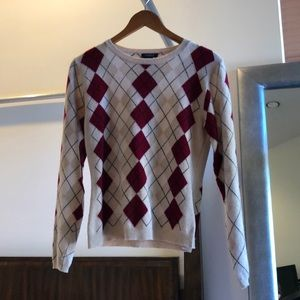 Burberry sweater size small